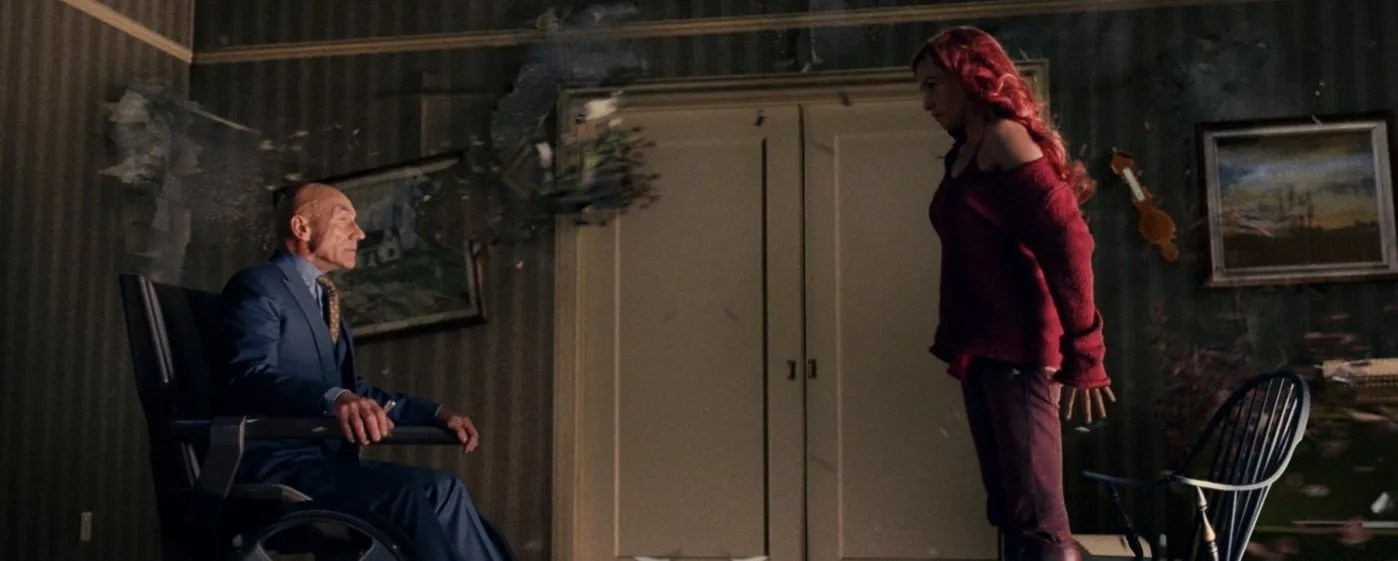 Image result for x-men last stand xavier's death