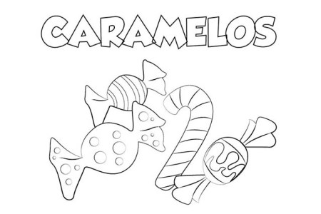 best Dibujos Para Colorear De Dulces Y Caramelos image collection