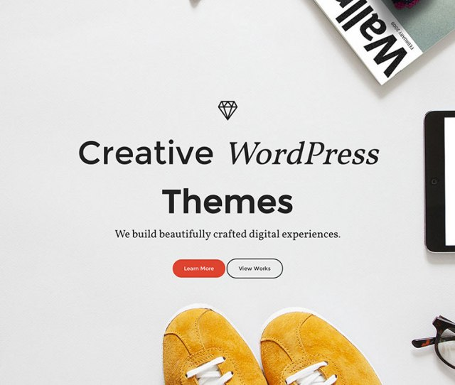 Creative WordPress Themes For Agency Portfolio Blog And Other Awesome Websites