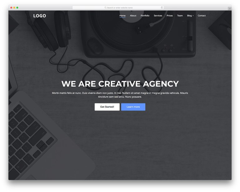 Free Bootstrap OnePage Theme
