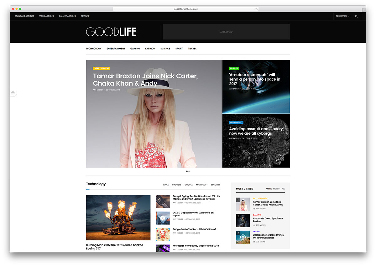 Goodlife-magazine-wordpress-tema