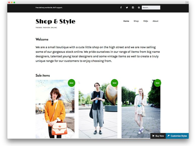 Make ─ Free WooCommerce WordPress Theme