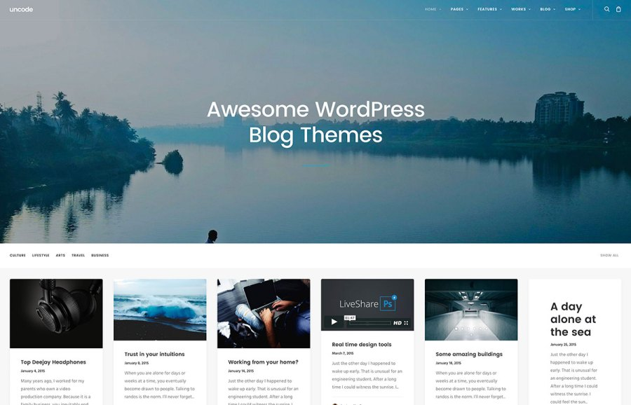 40  Best Personal Blog WordPress Themes 2018   Colorlib 40  Best Blog WordPress Themes For Corporate  Personal  Fashion  Travel   Photoblogging