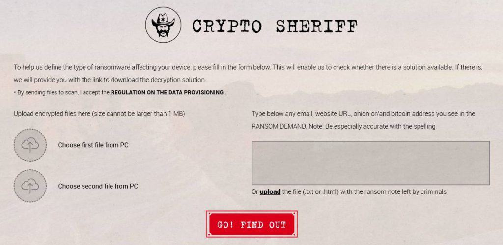 The Crypto Sheriff.