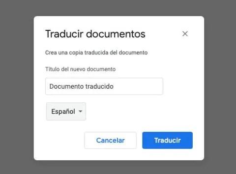 Traducir un PDF con Google Docs