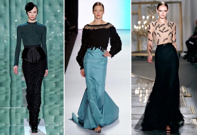 Marc Jacobs, Carolina Herrera e Jason Wu propõem a saia longa para a festa