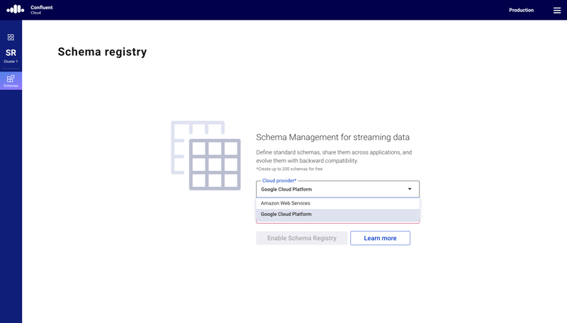 Confluent Cloud Schema Registry | GCP