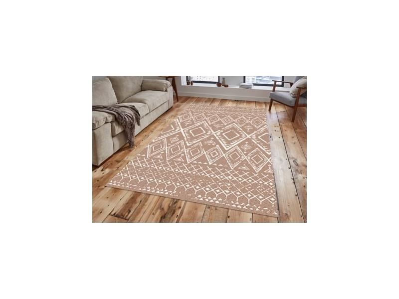 tapis salon beige
