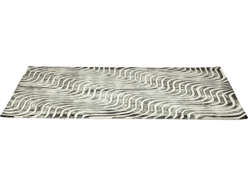 tapis en laine la ola gris 170x240cm