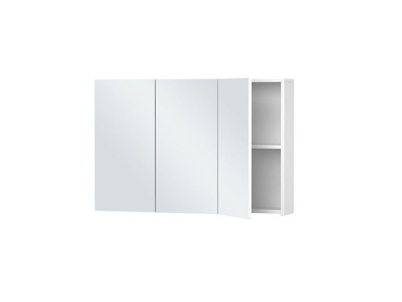 Armoire De Toilette Blanche 3 Portes 60 Cm X 90 Cm Hxl Vente De Pradel Premium Conforama