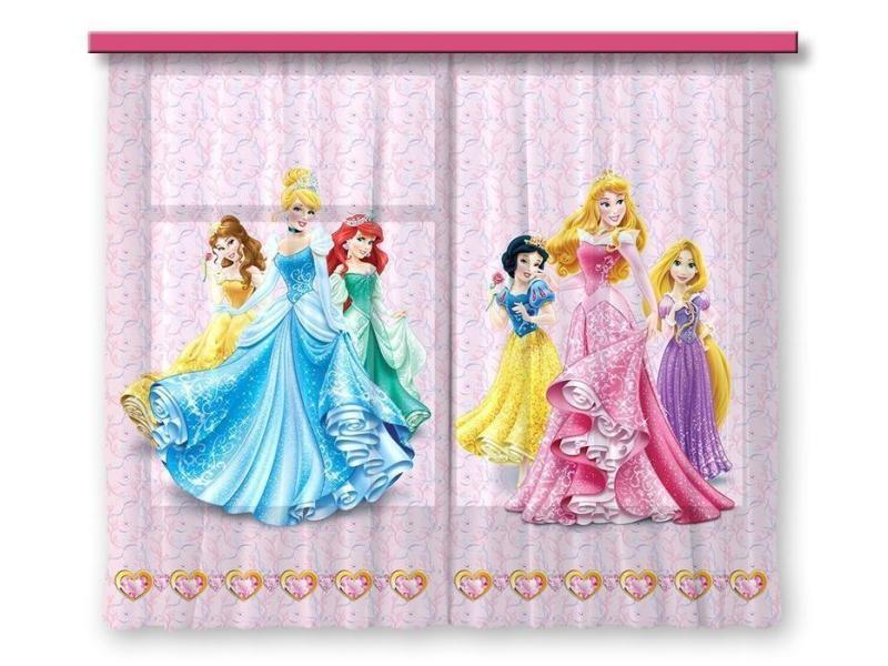 disney princesses rideau pour chambre d enfant 180x160 cm