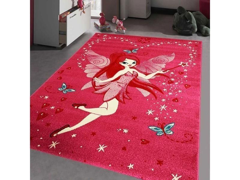 tapis chambre kids fee rose 80 x 150 cm tapis pour enfants chambre par unamourdetapis