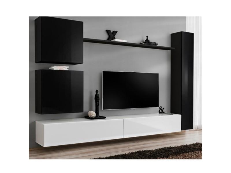 meuble tv mural design switch viii