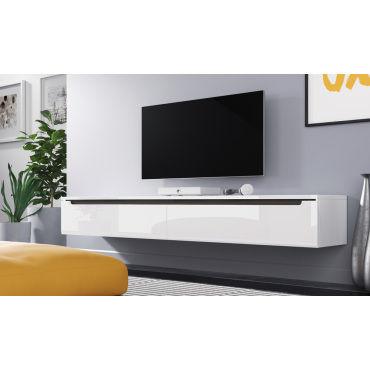 meuble tv swift 180 cm blanc