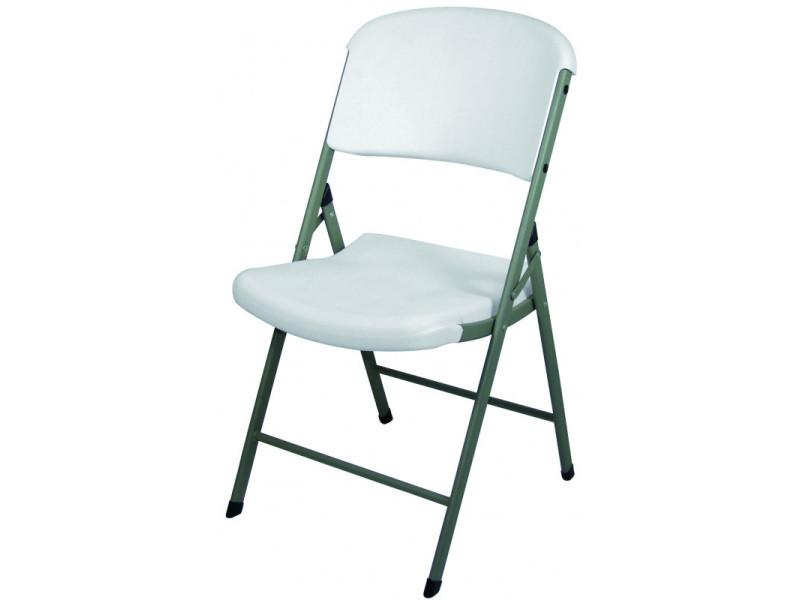 chaise pliante blanche stalgast