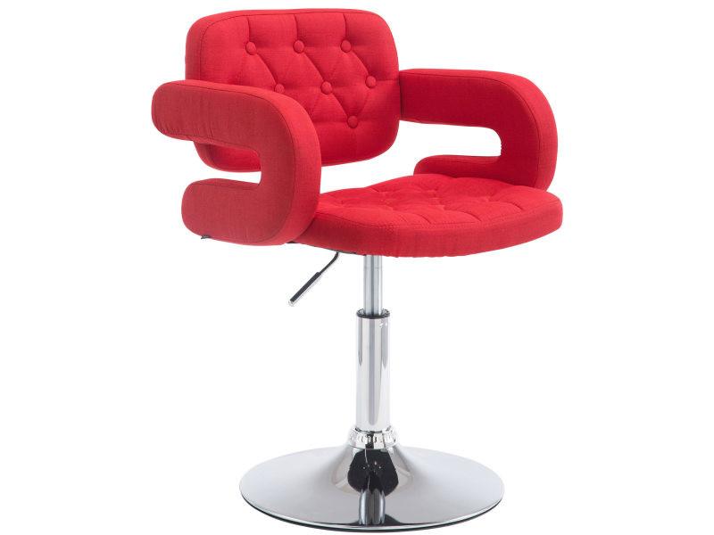 hauteur en tissu chaise haute pivotante