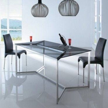 table a manger en verre design bruce