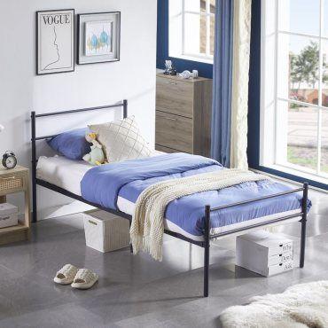 lit simple pour adulte 90x190cm