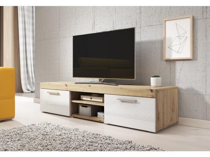 e com meuble tv paris 140 cm