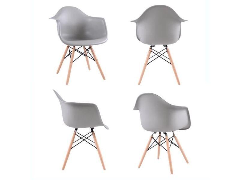fauteuil bureau scandinave