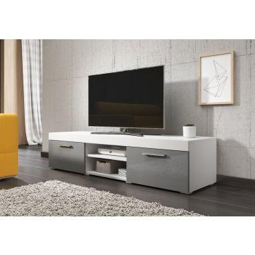 e com meuble tv paris 140 cm mat