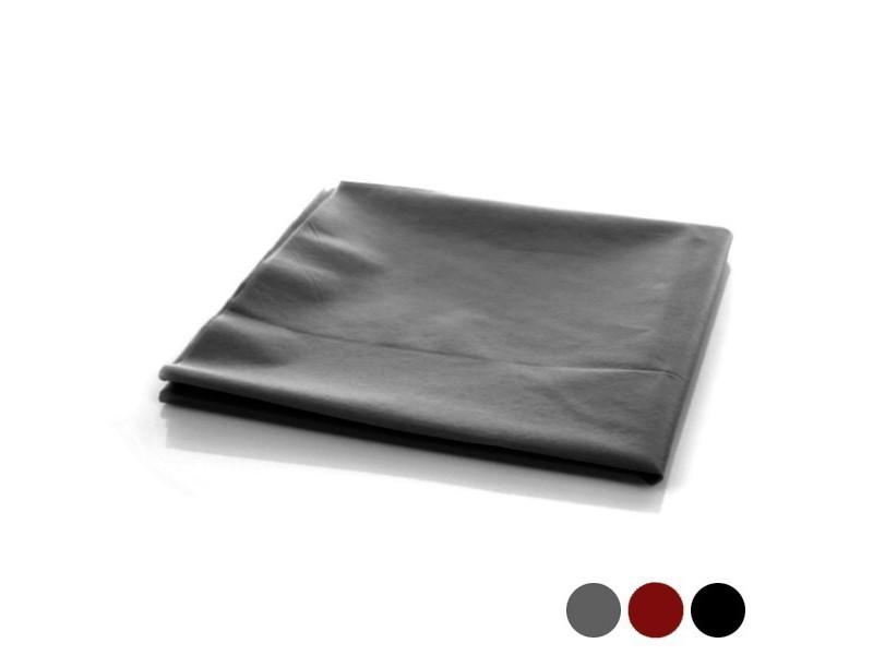 nappe de table pour table carree deco de table 120 x 120 cm couleur noir