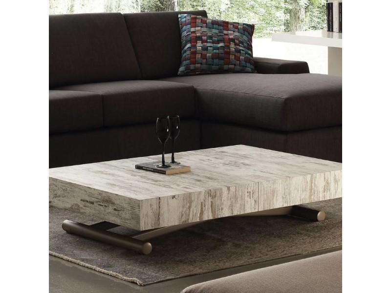 table basse relevable extensible block design vintage 20100869944