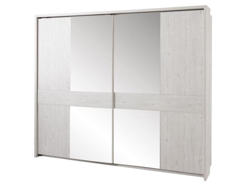 armoire 2 portes coulissantes 260cm