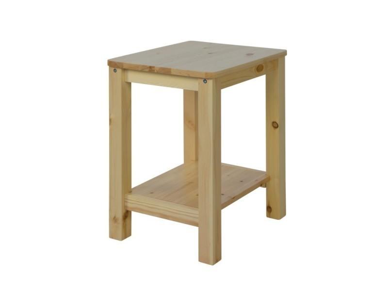 table chevet hauteur
