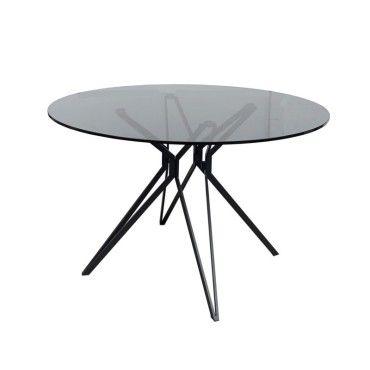 table ronde 120 cm avec plateau en