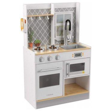 cuisine enfant en bois lets cook kidkraft o13974113