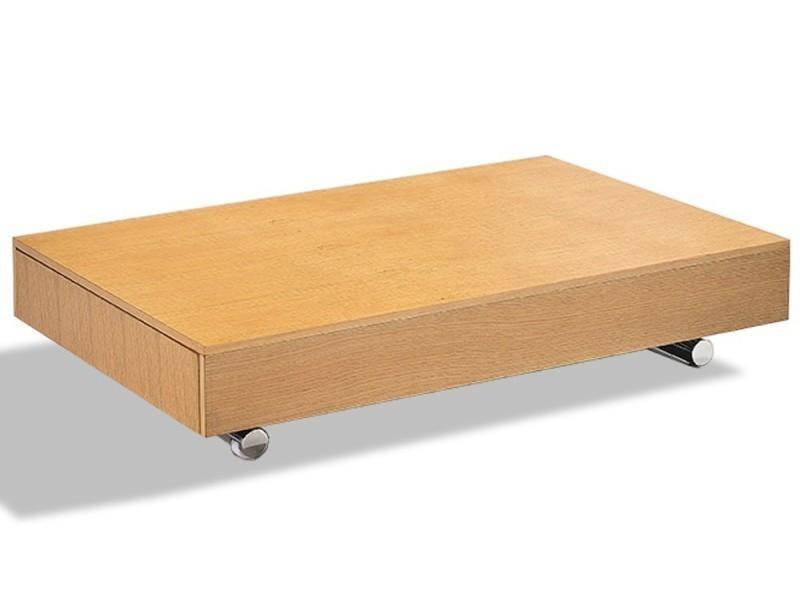 Table Basse Relevable Cube Coloris Beton Extensible 10 Couverts Pietement Chrome 20100871787 Vente De Table Basse Conforama
