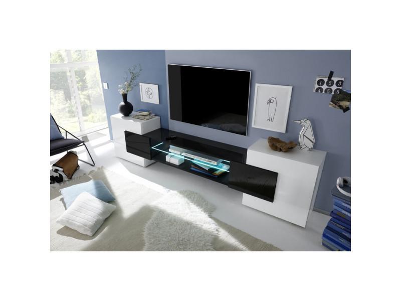 meuble tv moderne richie coloris noir