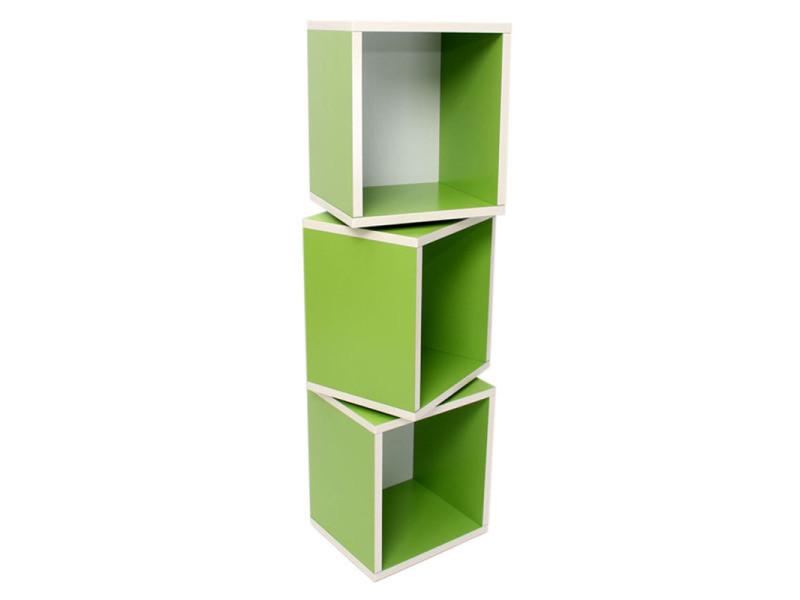 lot etageres cube