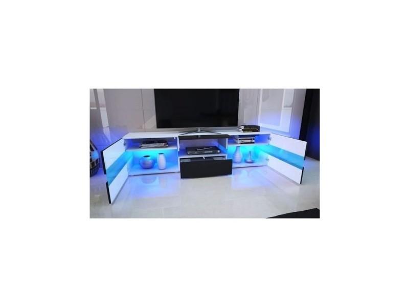 ثقب مجموعة مصفوفة مغامرة meuble tv avec enceinte integre