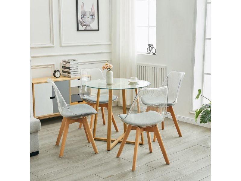 table verre chaises