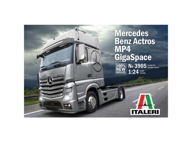Maquette Camion Mercedes Benz Actros Gigaspace Vente De Italeri Conforama