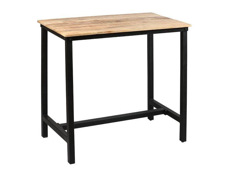 table mange debout rectangulaire 120cm