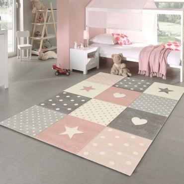 tapis enfant patchwork etoile 80 x 150 cm l50771488