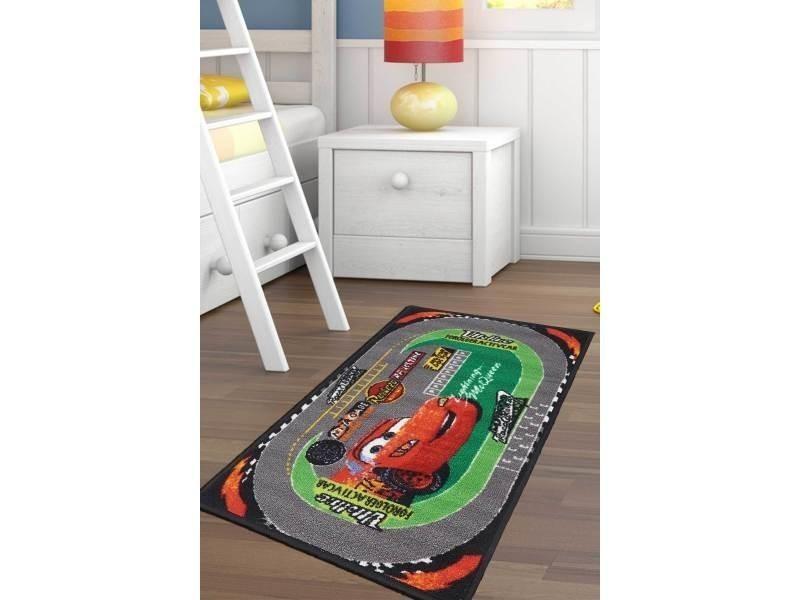 tapis chambre cars racing gris 50 x 80 cm tapis enfant et disney par unamourdetapis