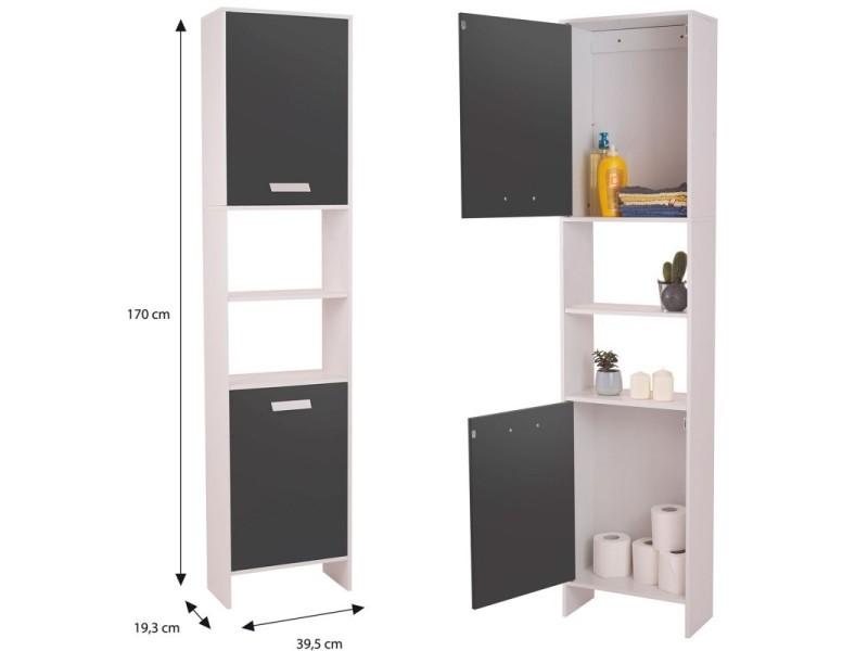 idmarket meuble colonne salle de bain