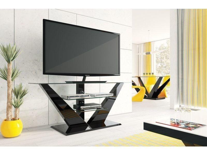 meuble tv design laque