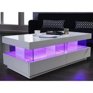 table basse light table basse led