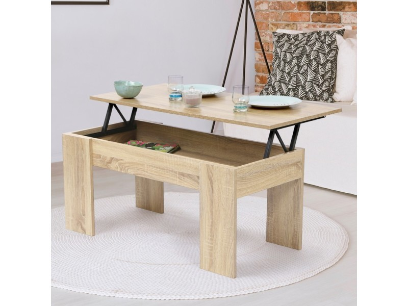 table bois imitation
