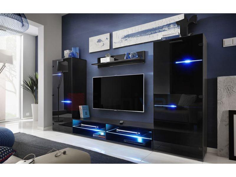 ensemble meuble tv led
