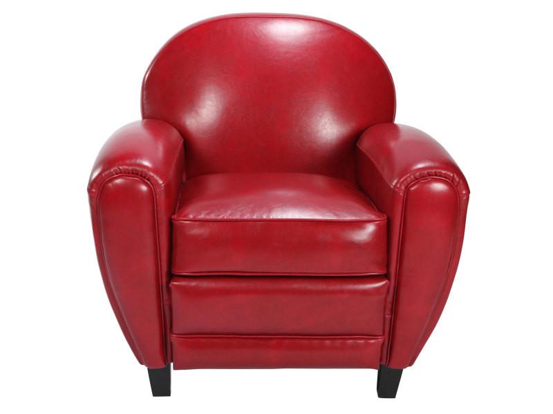 fauteuil rouge achat vente de