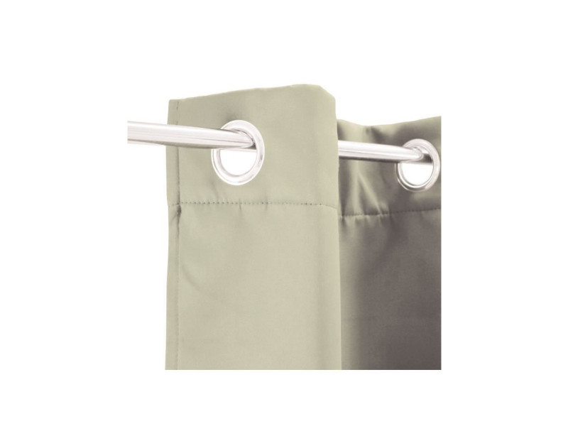 rideau occultant strong 140 x 250 cm beige