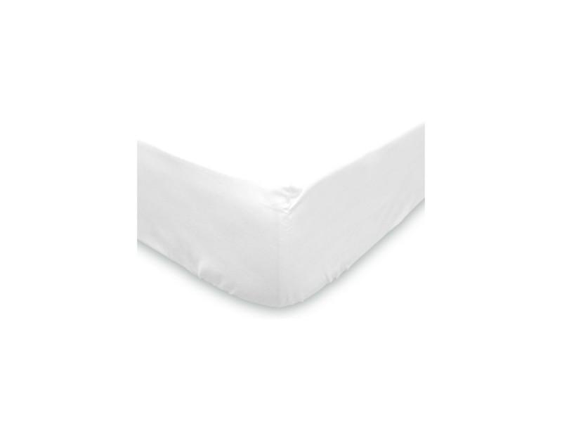 protege matelas matelasse 2x70x190 pour lit a tetes et pieds relevables anti acarien