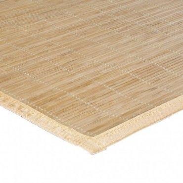 tapis en bambou naturel 60x90 cm