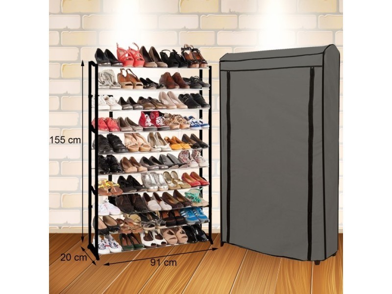 Etagre Range Chaussures 50 Paires Eco Vente De ID